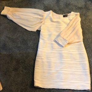 Cream elegant Dress